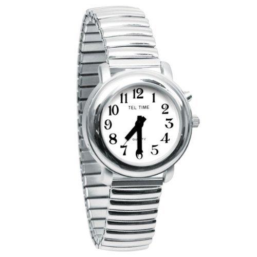 Konuşan Gümüş Renkli Saat