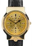 erkek için kabartma saat (braille saat) garde 34 gold resmi